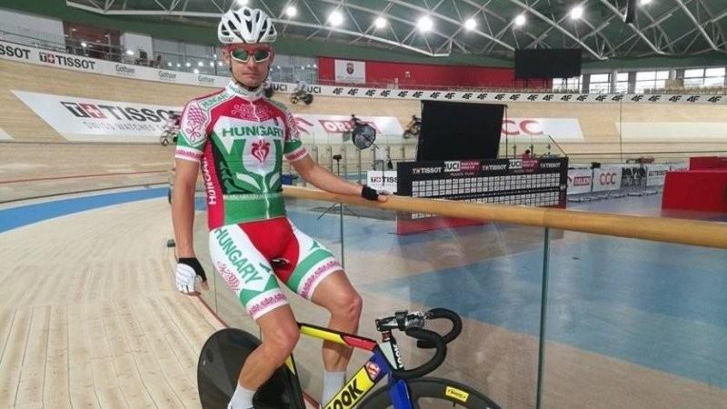 Pályakerékpár-vb - Lovassy 23. omniumban, Szalontay 21. sprintben