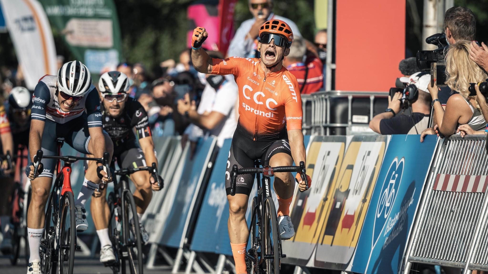 Olasz hármasbefutó a Tour de Hongrie második szakaszán