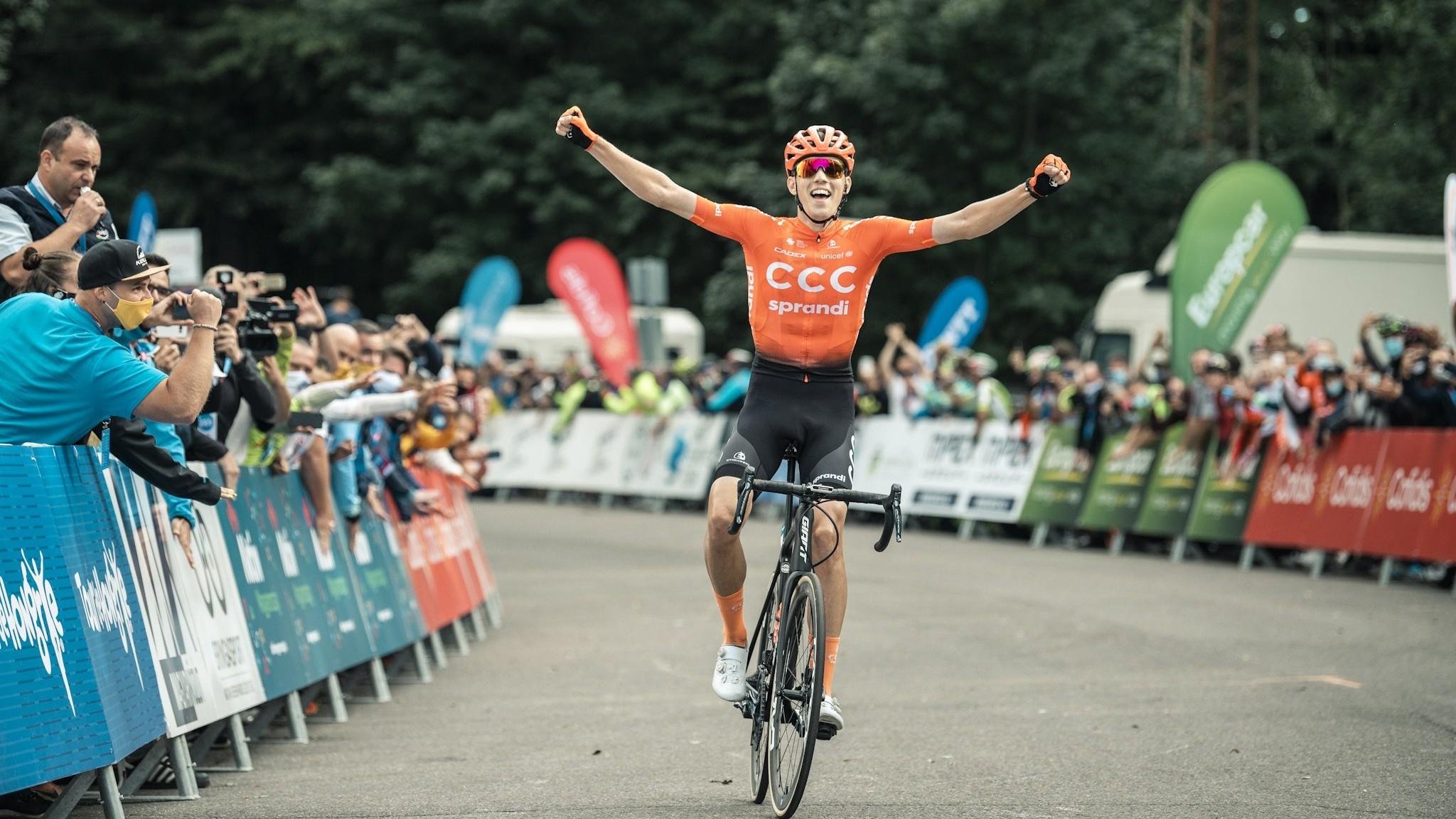 Vater Attila megnyerte a Tour de Hongrie-t!