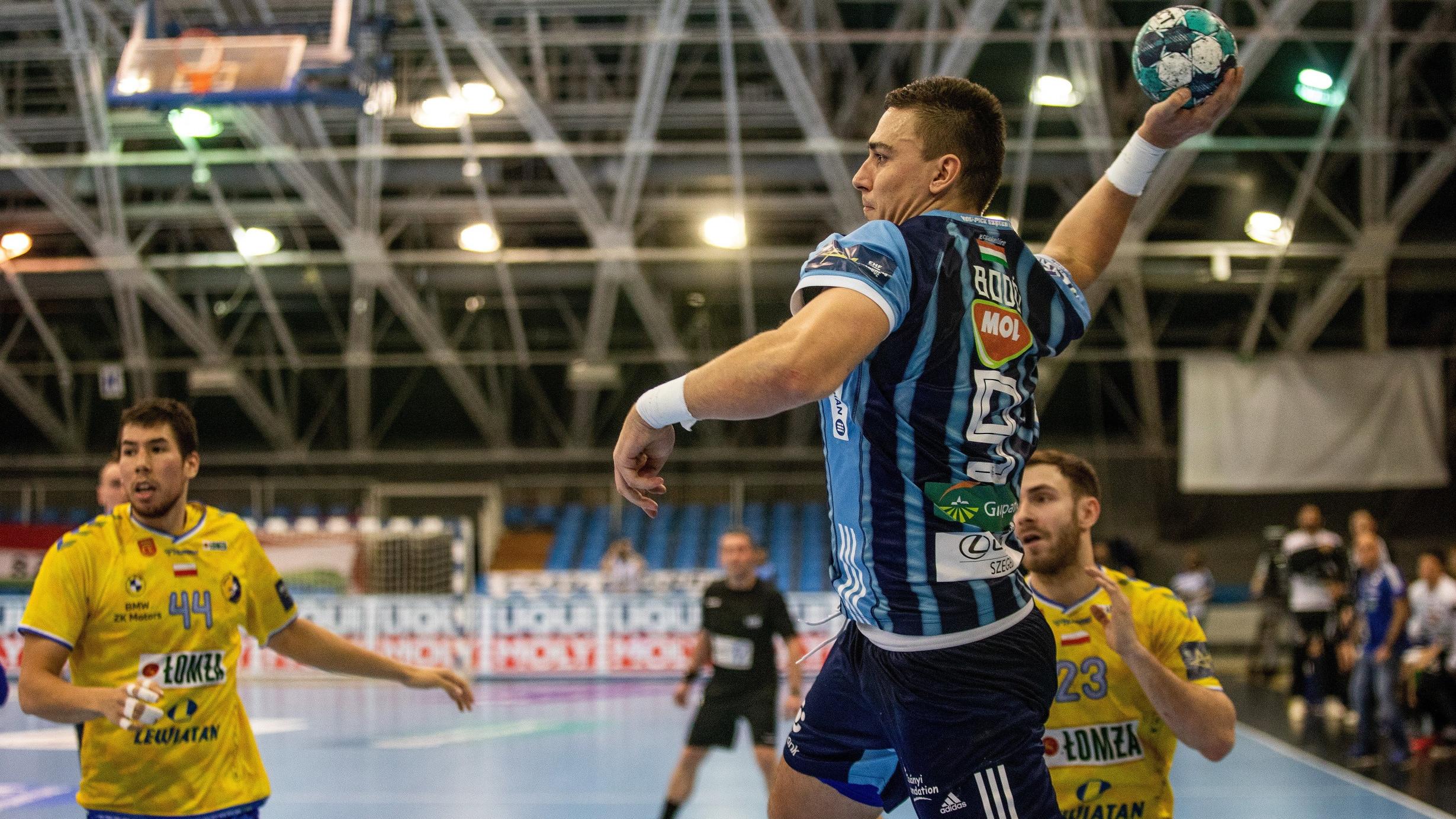 Játék nélküli Szeged győzelem a Bajnokok Ligájában