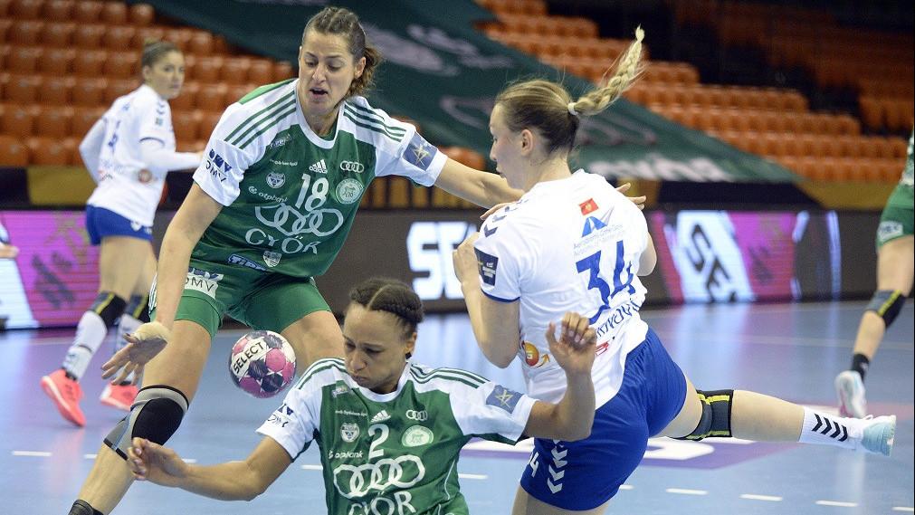 Kettős győzelemmel elődöntős a Győr