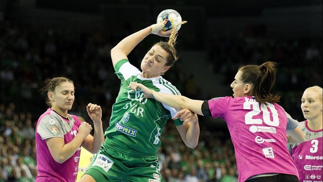 Mindkét magyar csapat győzött a női kézilabda BL-ben