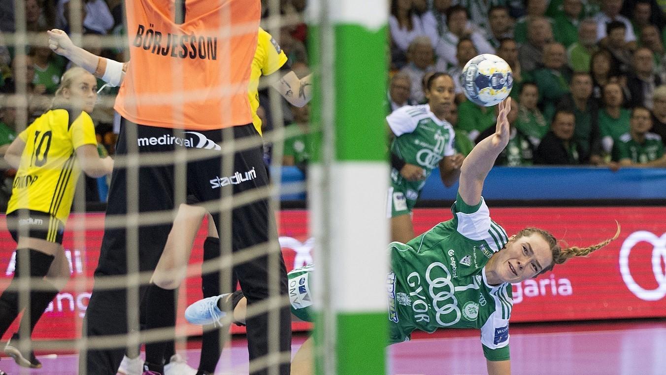 A Győr egy tucatnyi góllal volt jobb svéd riválisánál a BL-ben