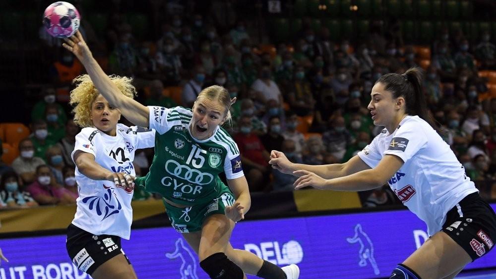 Tizenöt góllal nyert a Győr a BL-ben!
