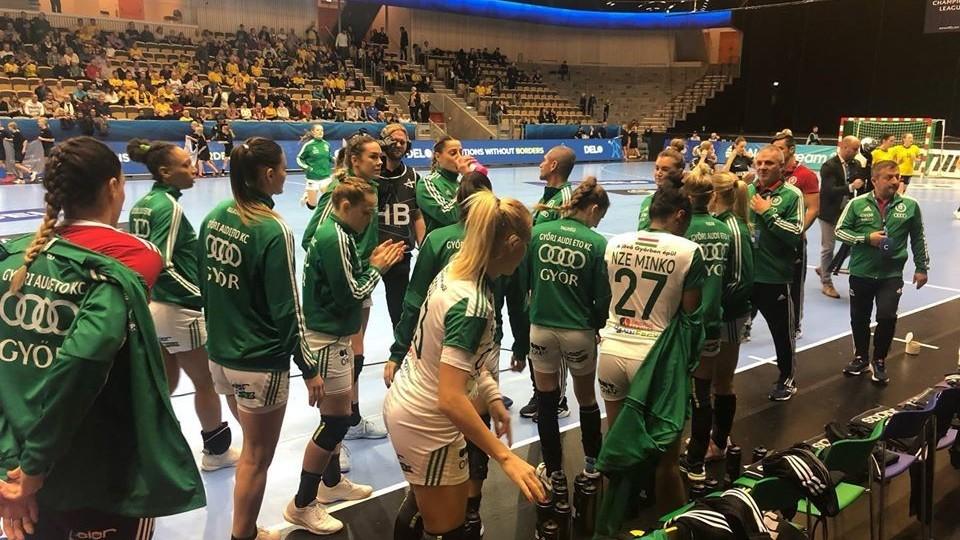 A Győr a svéd bajnokot is legyőzte idegenben