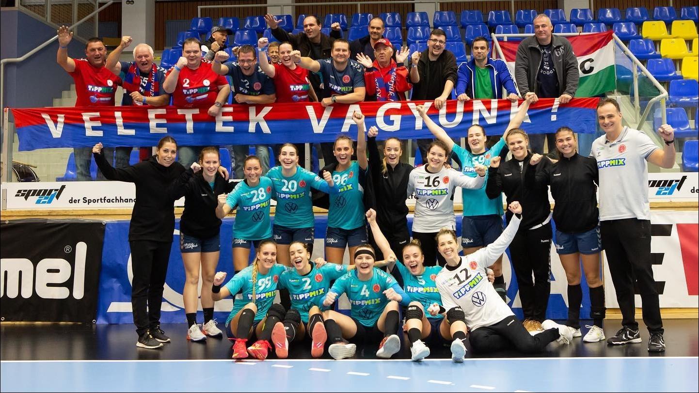 A Vác kettős győzelemmel jutott tovább az EHF Kupában