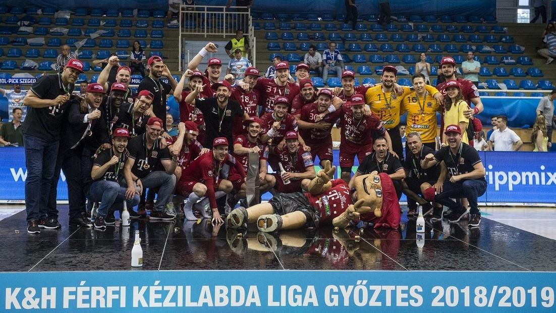 Férfi kézilabda NB I - Szegedi döntetlennel bajnok a Veszprém
