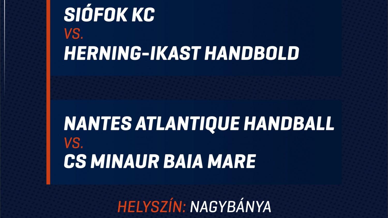 Siófok - Herning elődöntő az Európa-ligában