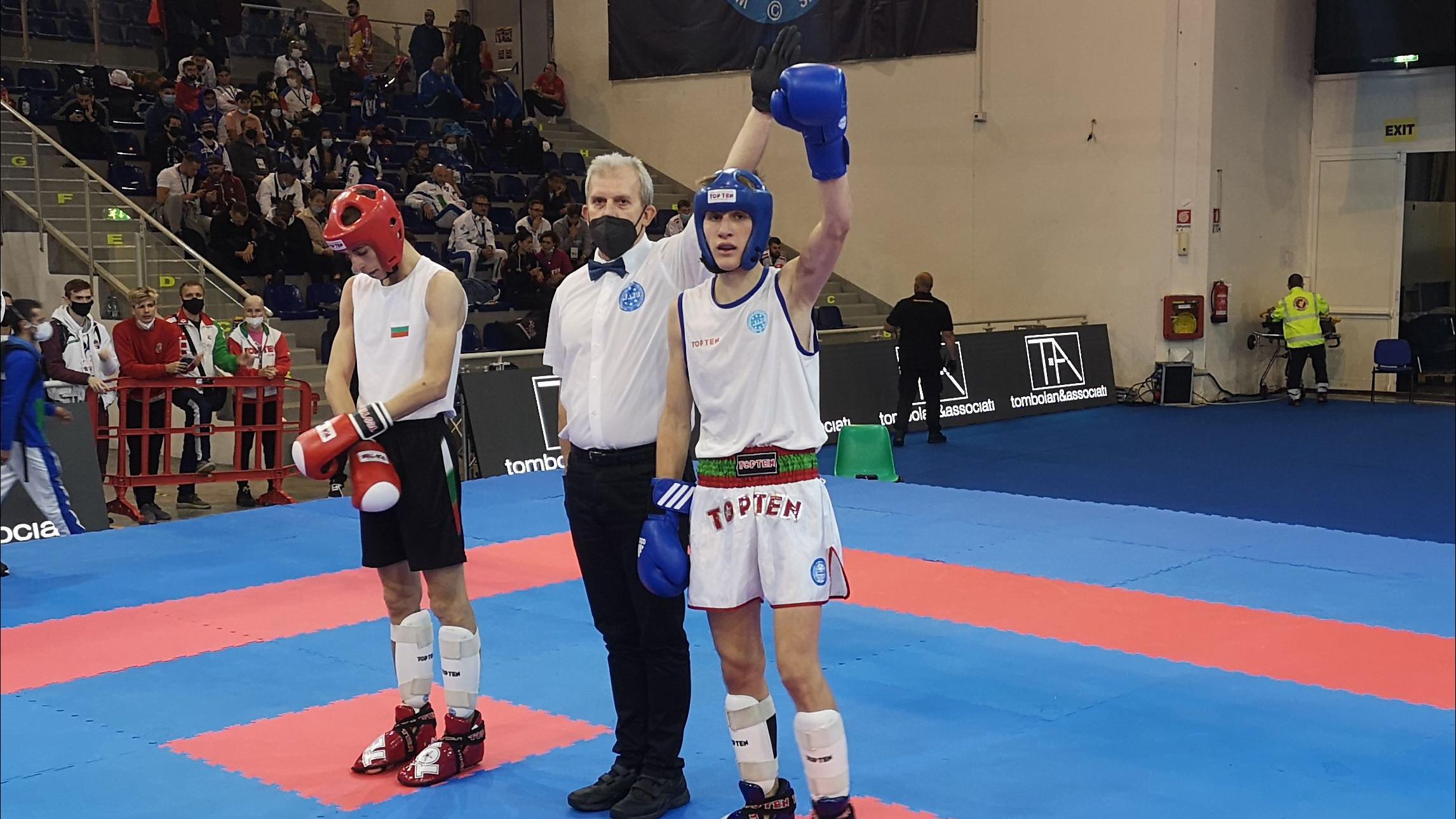Száraz Gergő duplázott a kick-box világbajnokságon