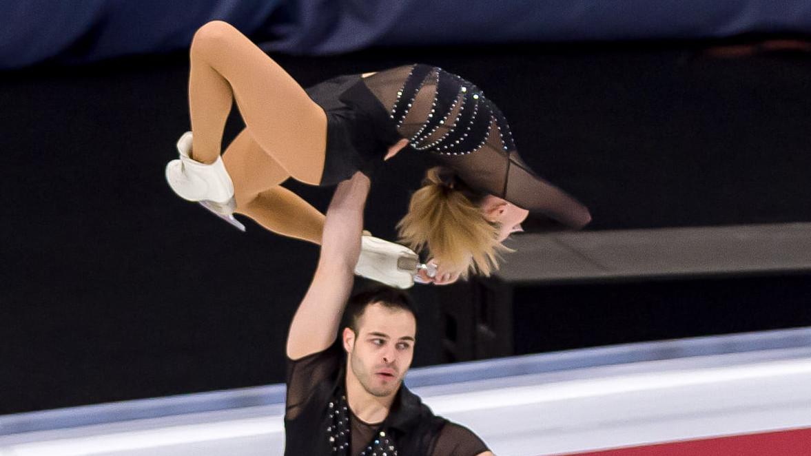Olimpiai kvótát szerzett a magyar műkorcsolya páros