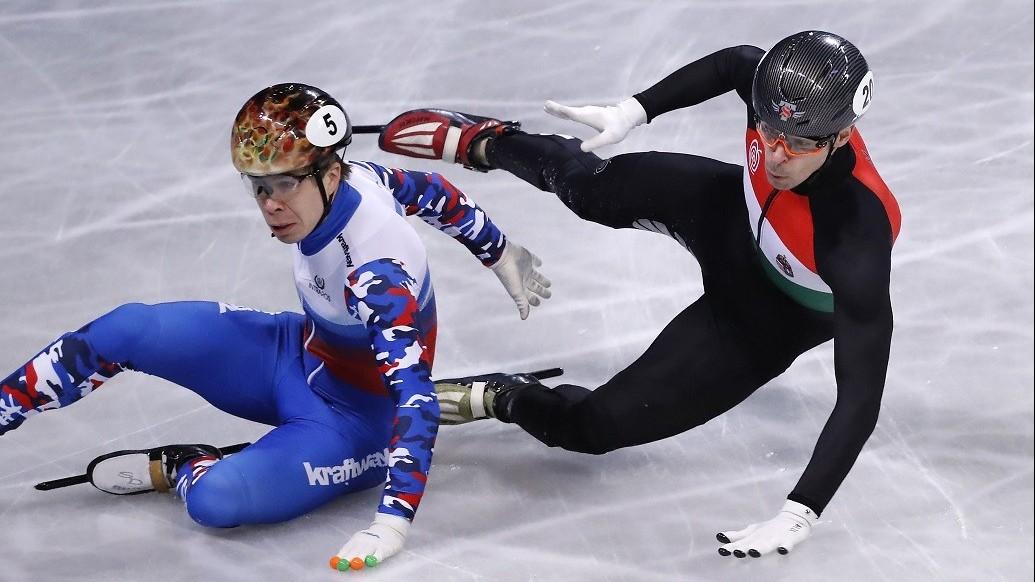 Rövidpályás gyorskorcsolya vb - Nincs magyar döntős 1000 méteren