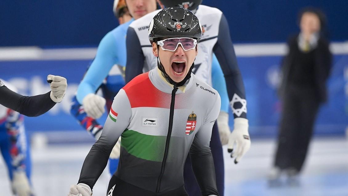 Liu Shaoang aranyérmes!