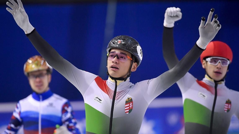 Kettős magyar győzelem 500 méteren!