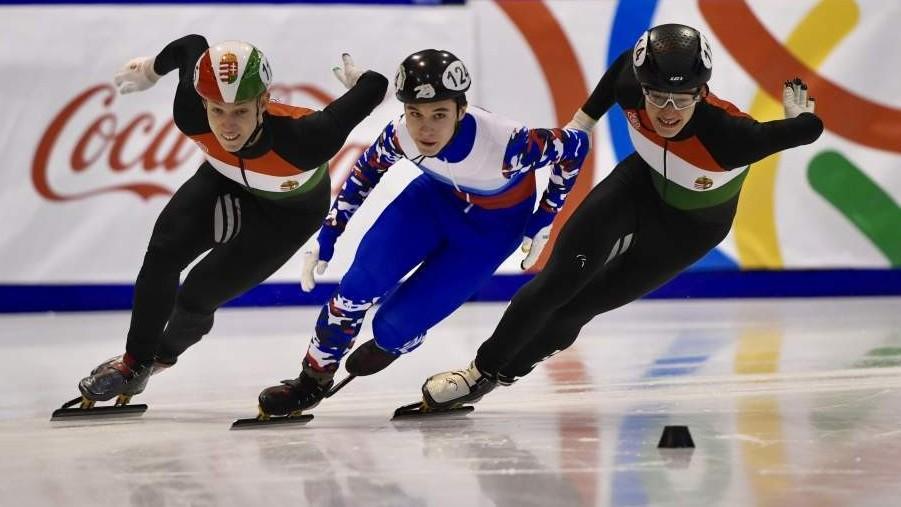 Két magyar arany és bronz a zárónapon a téli EYOF-on