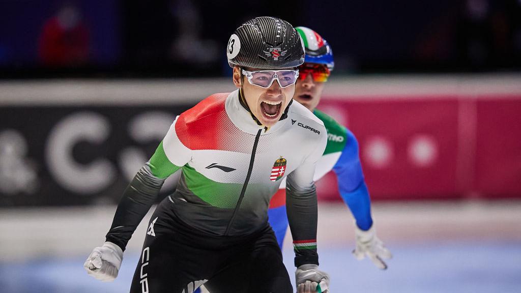 Liu Shaoang aranyérmes lett 500 méteren a rövidpályás gyorskorcsolya világbajnokságon