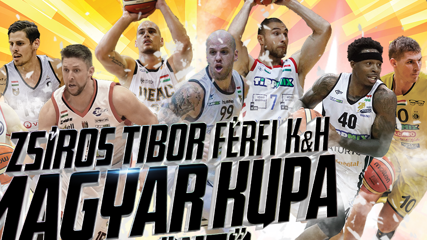 A negyeddöntők napja a férfi kosárlabda Magyar Kupában
