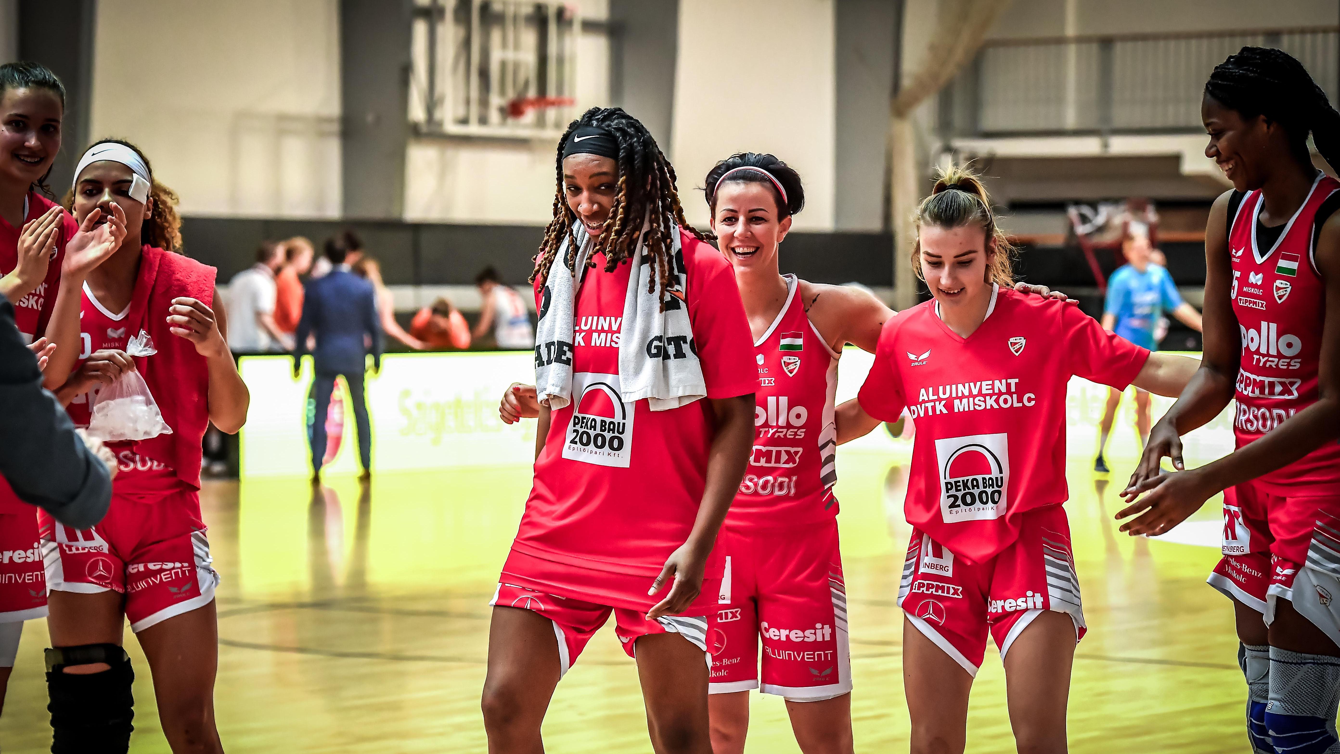 DVTK-Sopron döntő lesz a női kosárlabda Magyar Kupában