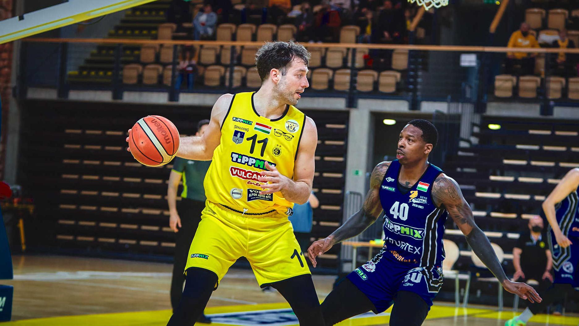 Falco-Szolnok döntőt rendeznek a férfi kosárlabda bajnokságban