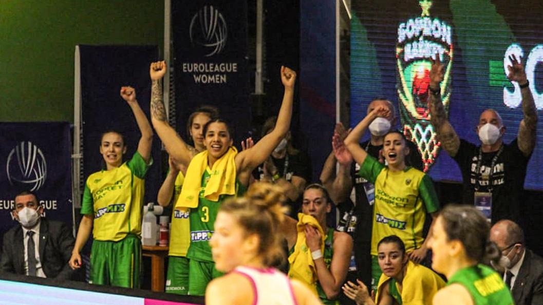 Bejutott a Final Fourba a Sopron Basket