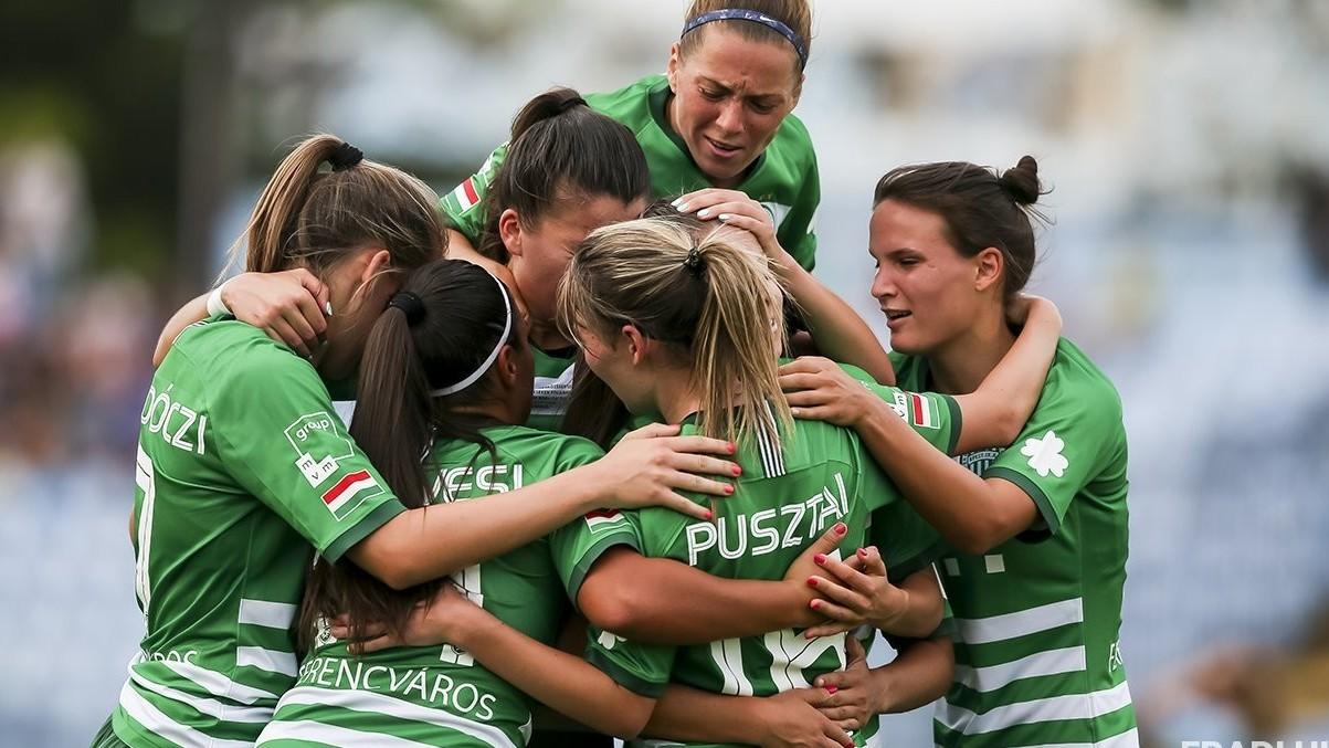 A FTC női labdarúgói nyertek a BL-selejtezőben