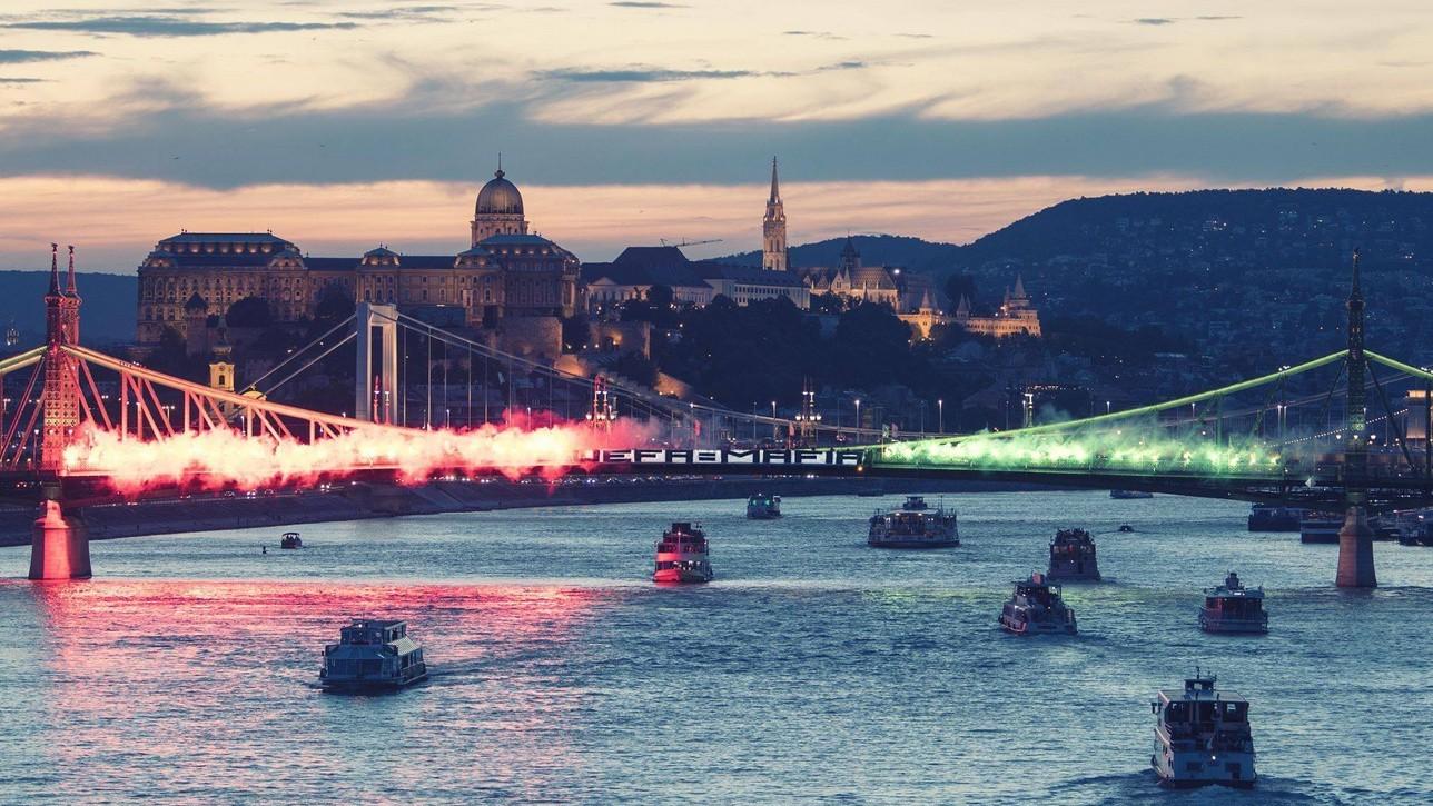 A Budapest Honvéd szurkolói is tiltakoztak az UEFA döntése ellen