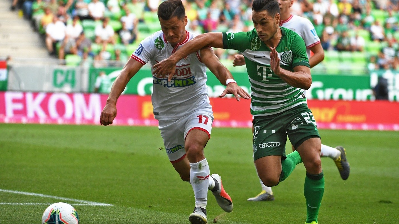 Emberhátrányban nyert a címvédő Ferencváros