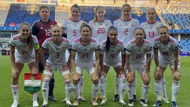 Kikapott a magyar női labdarúgó-válogatott Svédországban