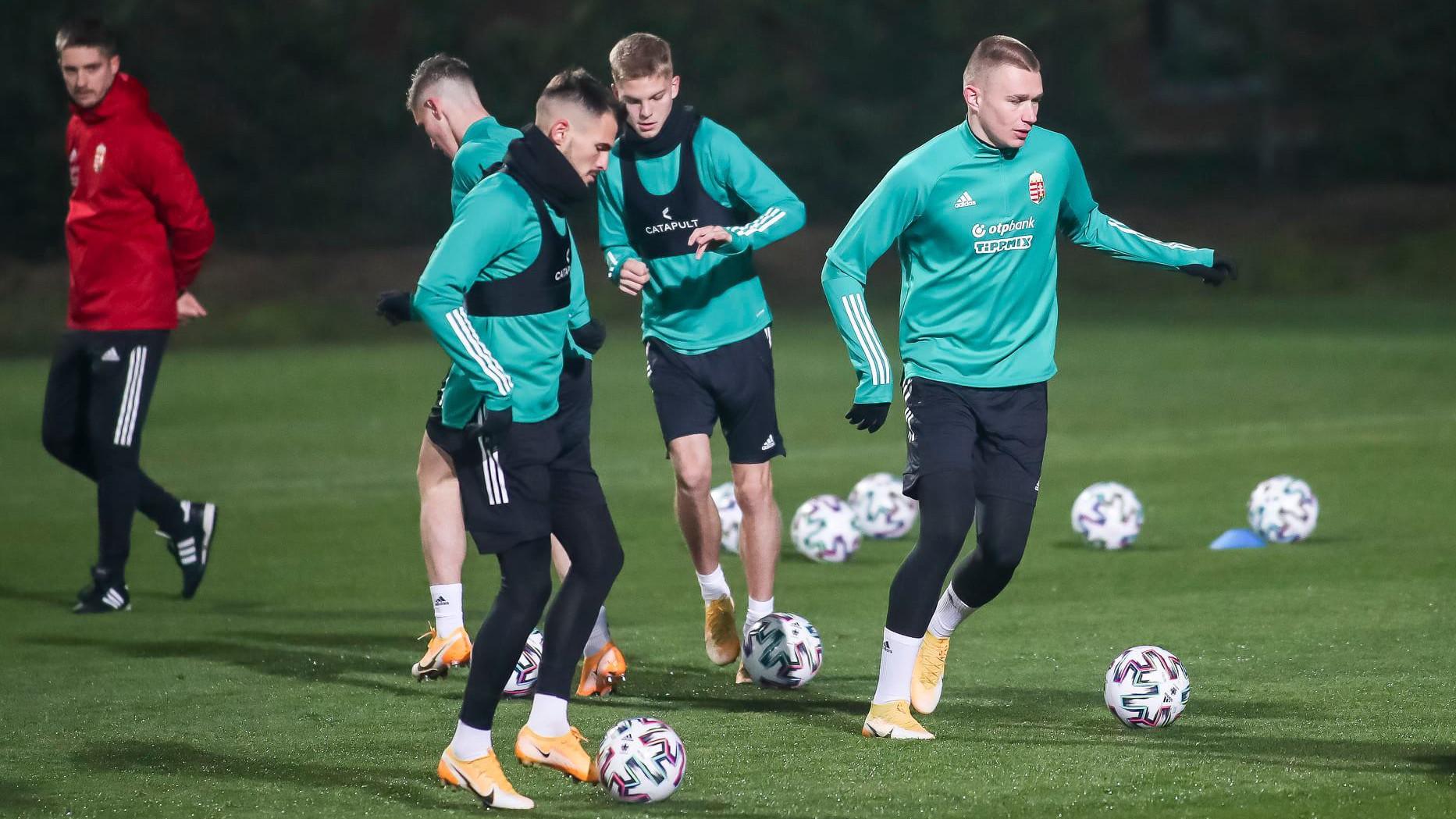 A válogatott megkezdte a felkészülést Izland ellen