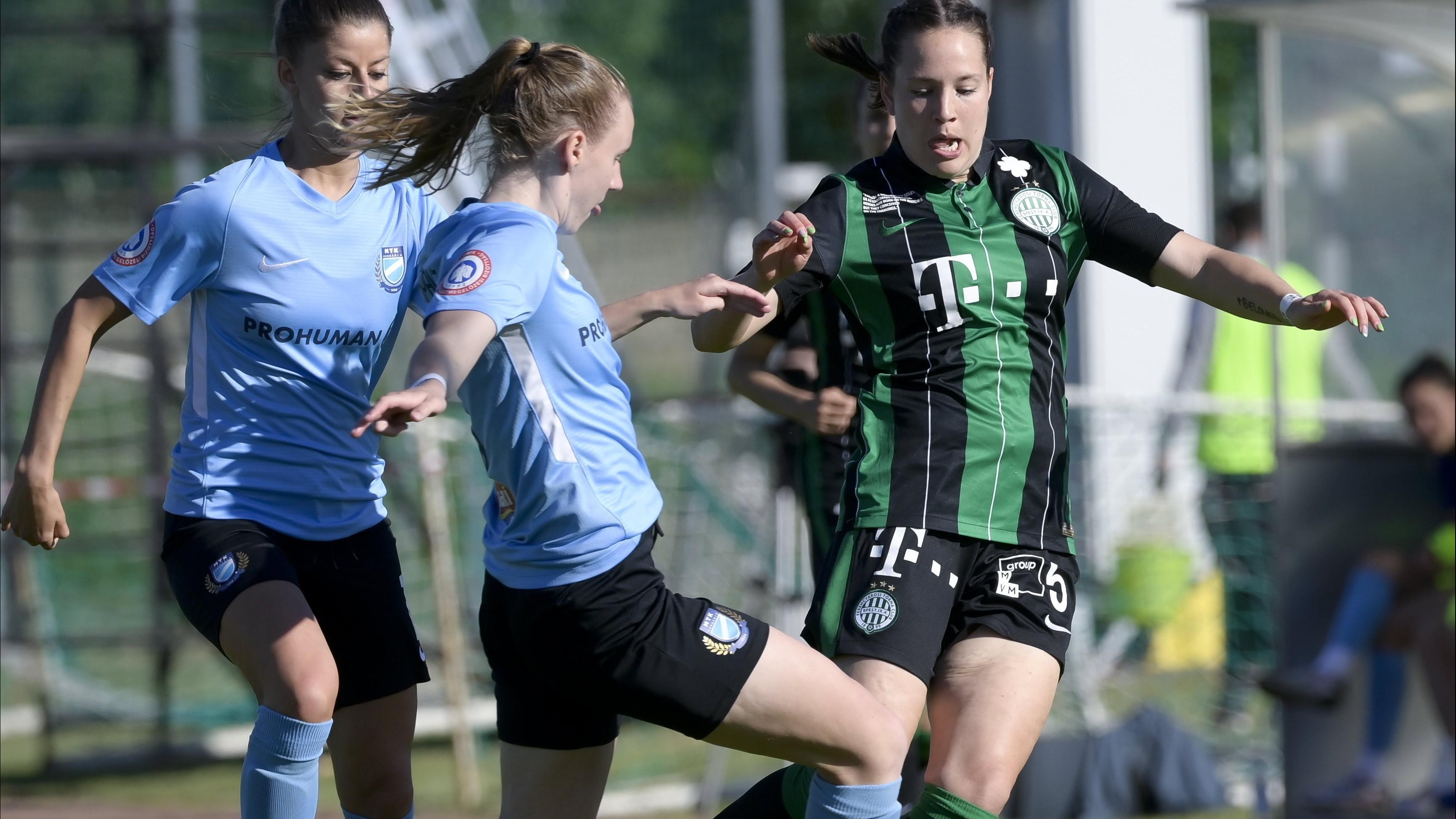 Az FTC a női labdarúgó-bajnok