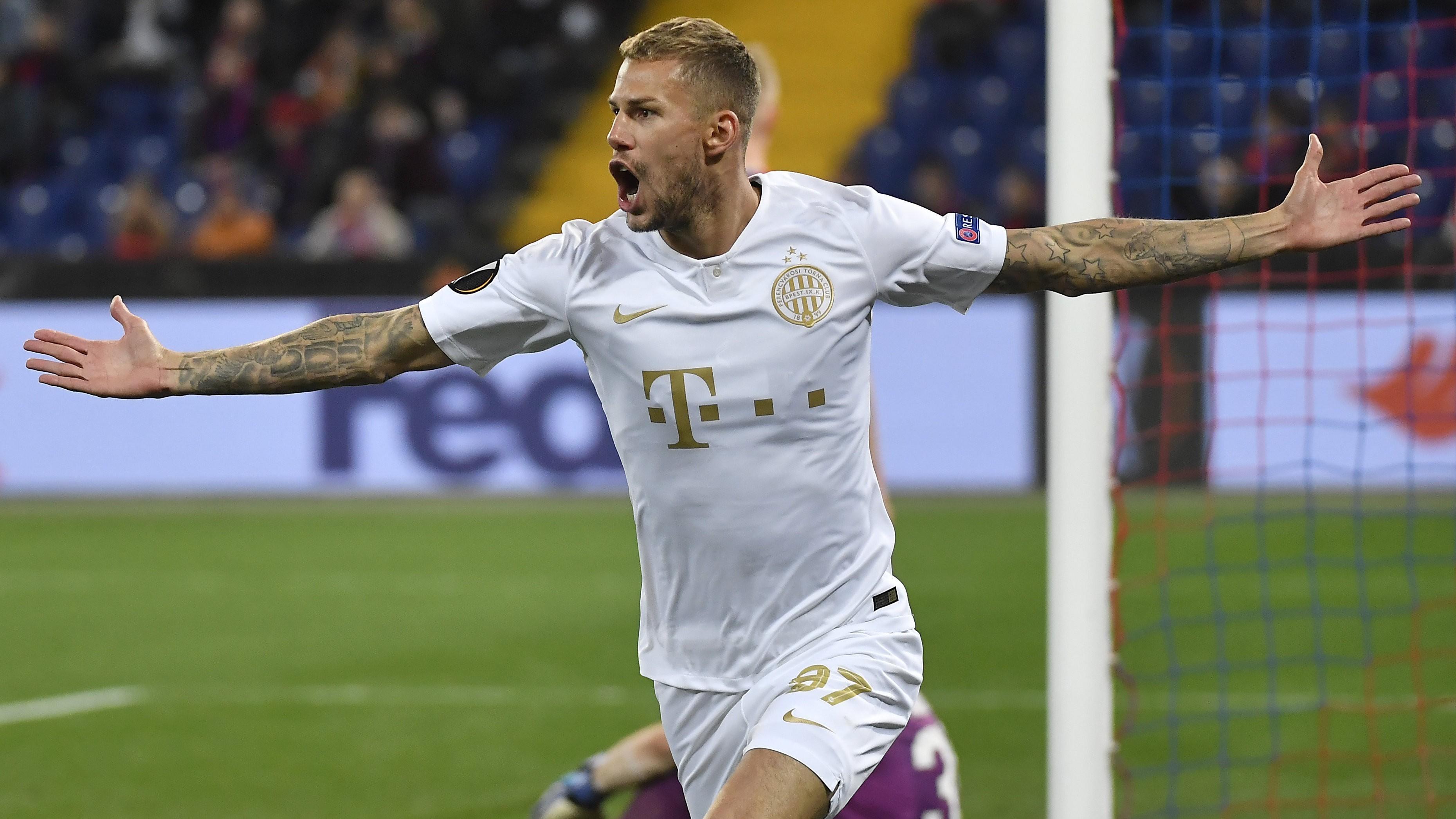 Európa-liga - Győzött Moszkvában a Ferencváros