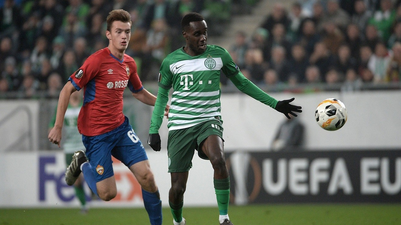 Európa-liga - Ferencvárosi döntetlen a CSZKA Moszkva ellen