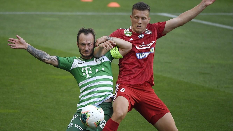 Potyagóllal győzött a Ferencváros