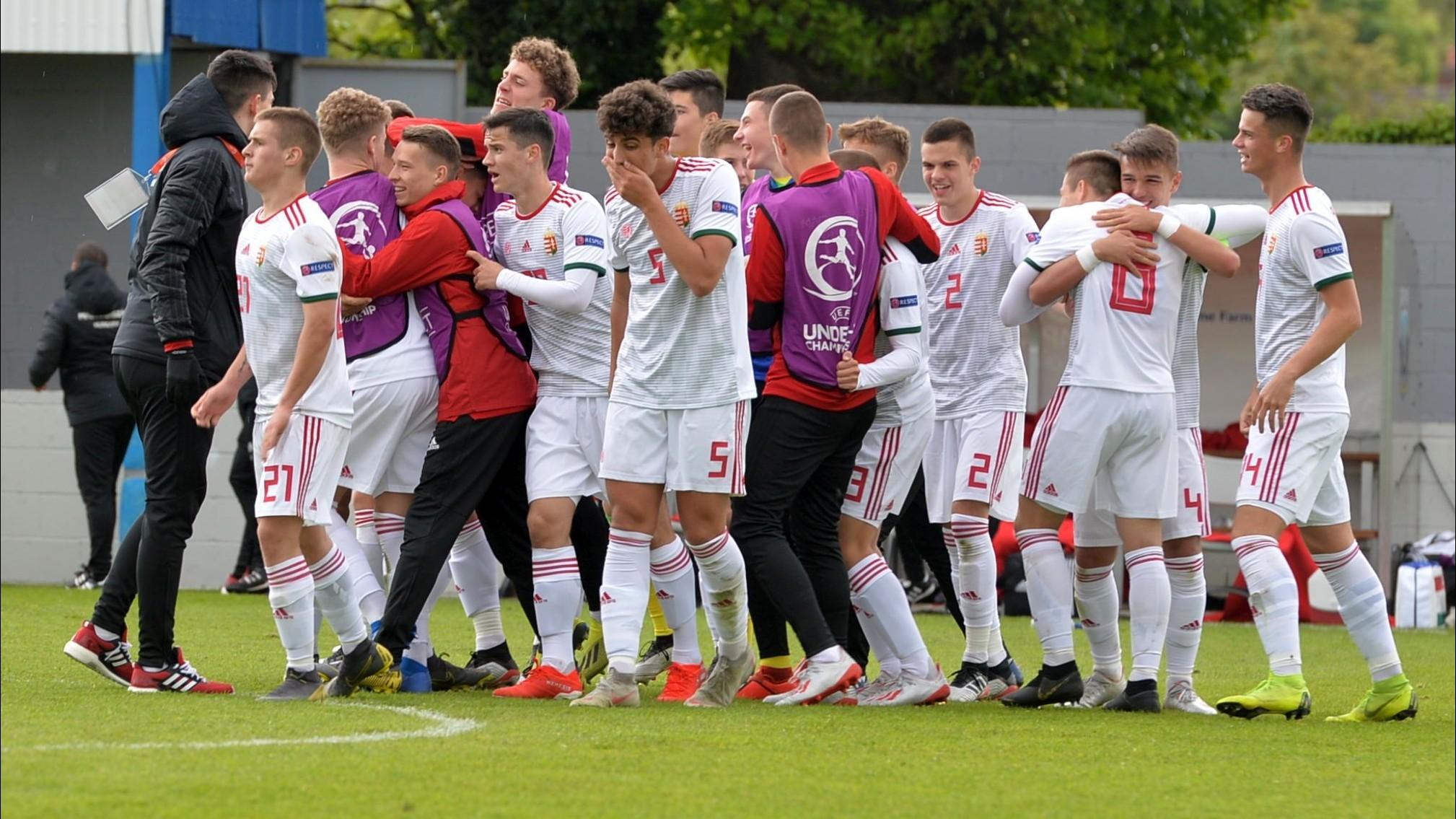 U17-es labdarúgó Eb - Második mérkőzését is megnyerte és negyeddöntős a magyar válogatott