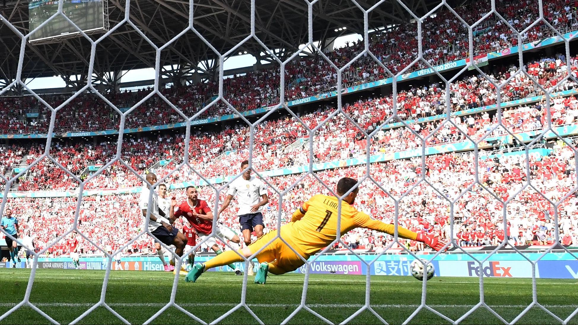 Bravúros döntetlen a franciák ellen az Európa-bajnokságon