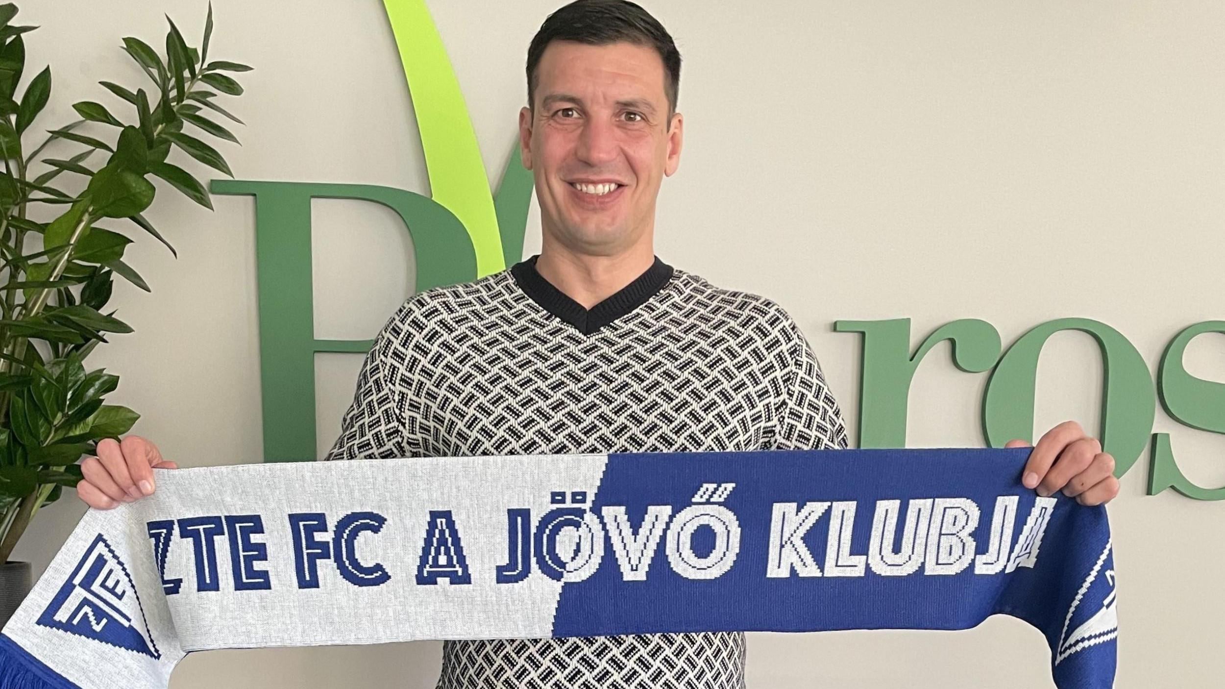 Waltner Róbert a ZTE FC új vezetőedzője