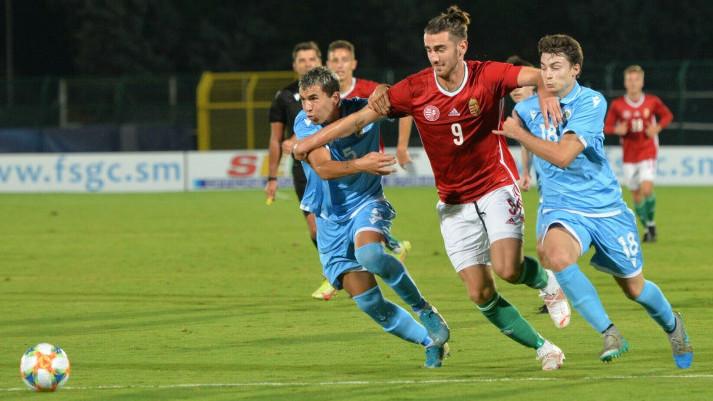 Fölényes győzelem San Marino ellen