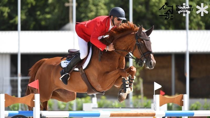 Magyarország harmadik lett a budapesti olimpiai kvalifikációs díjugrató világkupán