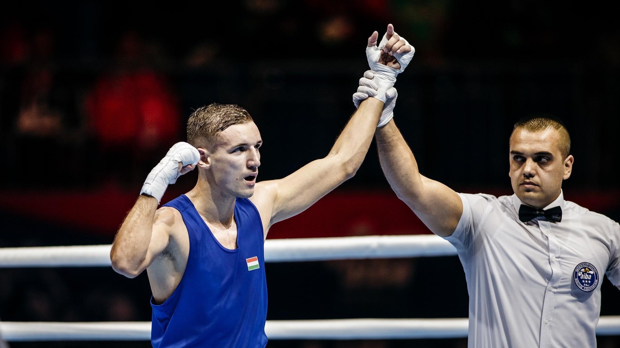 Ökölvívó-vb - Fodor Milán rossz kezdés után fordított és nyert