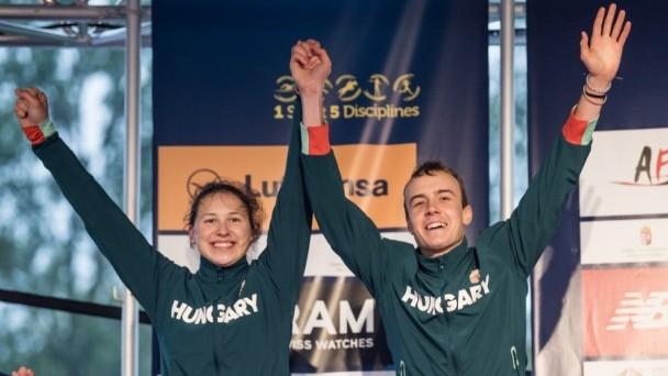 Öttusa vk - Magyar ezüstérem a vegyesváltók versenyében