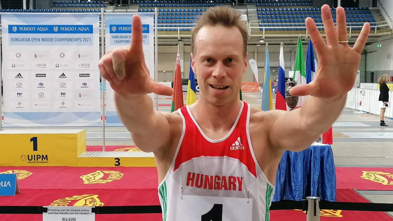 Kasza Róbert ezüstérmes, ezzel egyben magyar bajnok