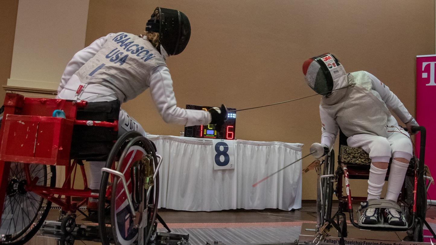 Újabb hat vívó kvóta a paralimpiára