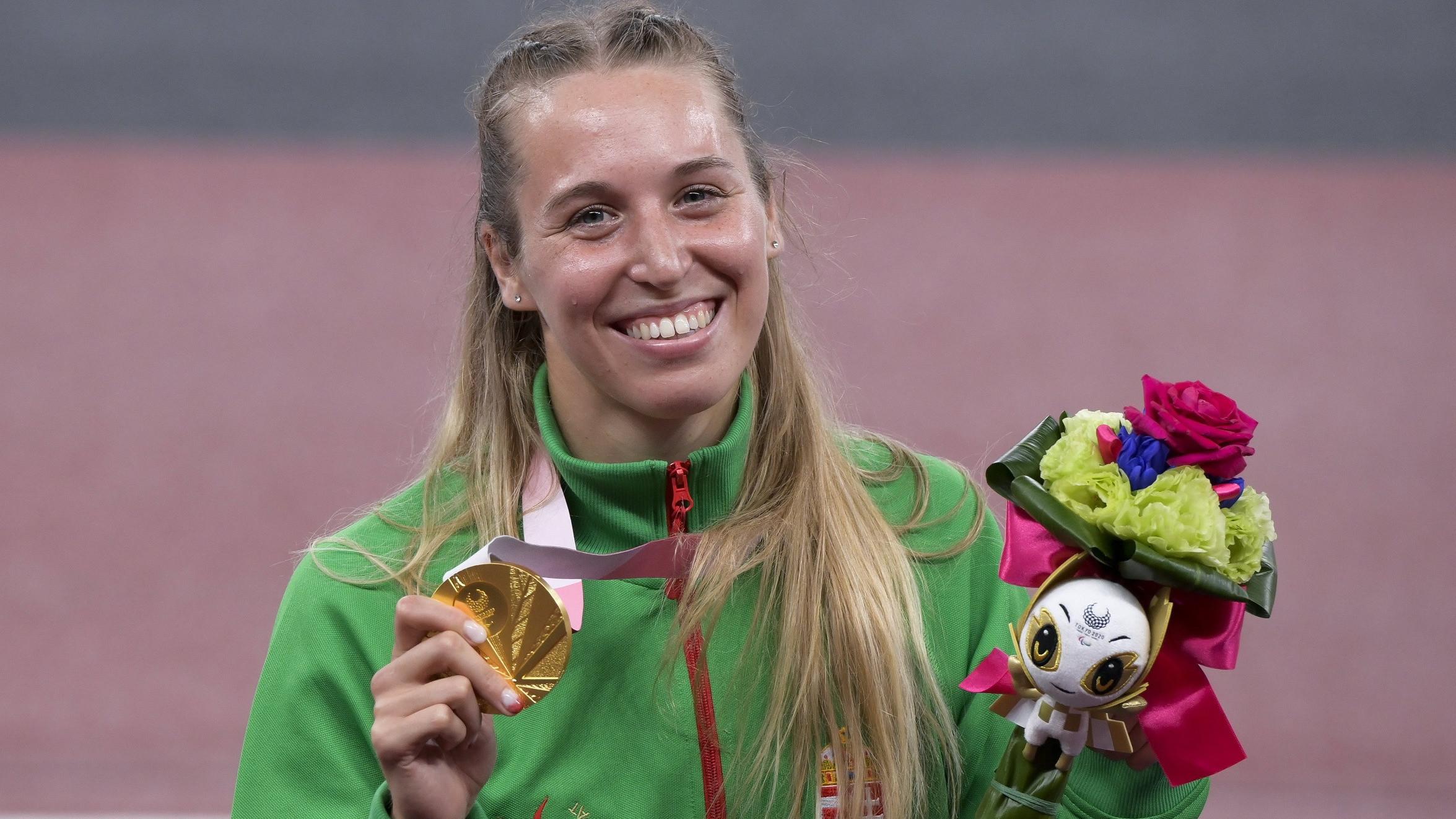 Ekler Luca aranyérmes a paralimpián
