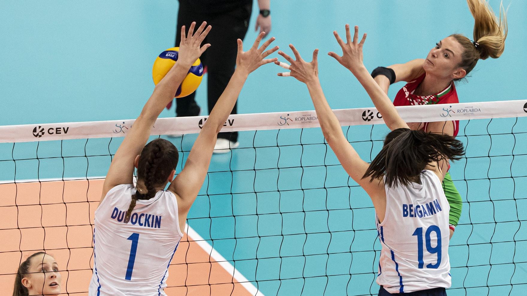Ismét ott lesz az Európa-bajnokságon a magyar női röplabda-válogatott