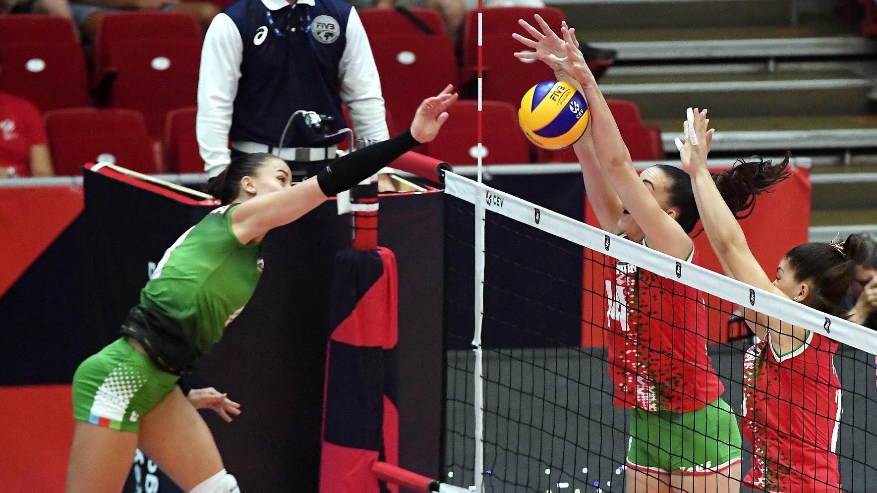 Vereség Azerbajdzsán ellen az Európa-bajnokságon