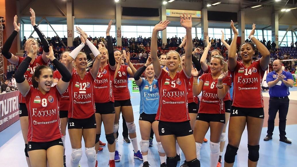 Női röplabda Magyar Kupa - Megvédte címét a Nyíregyháza