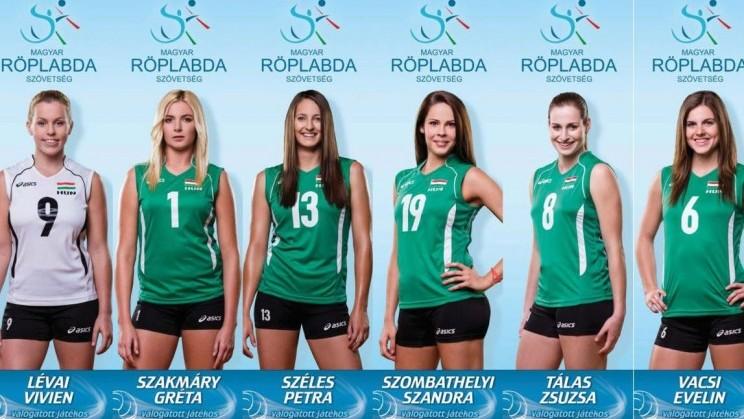 Egy helyet rontott európai helyezésén a magyar női röplabda-válogatott