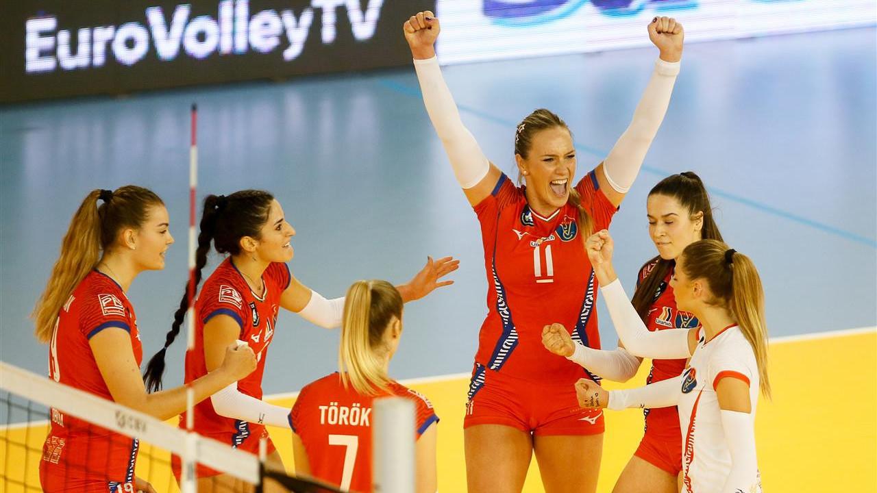 Negyeddöntős a Vasas a CEV-kupában