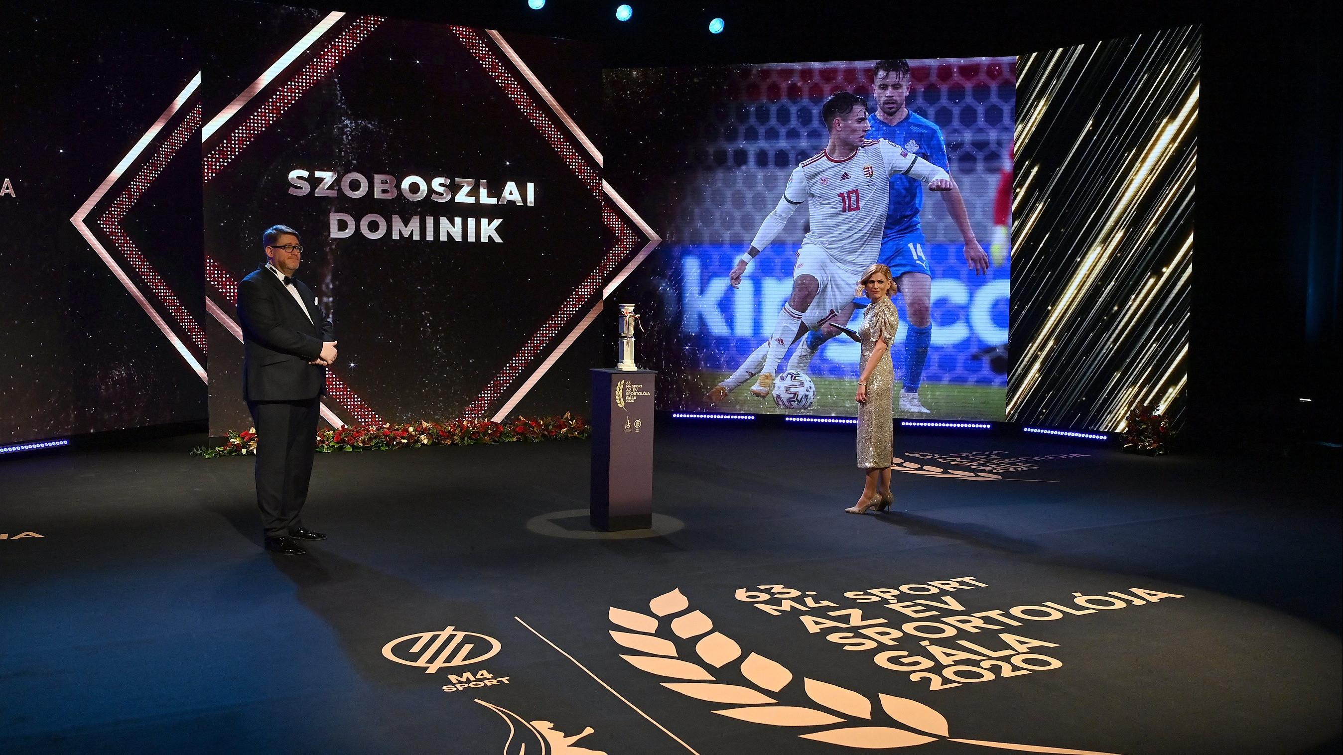 Szoboszlai és Karakas a győztes az Év sportolója választáson