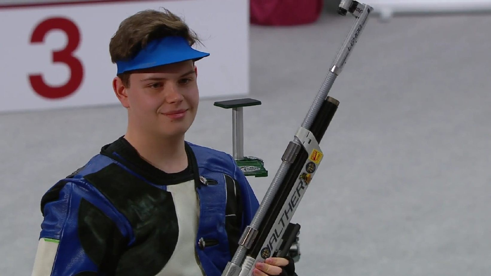 Aranyérmet nyert Hammerl Soma a Légfegyveres Eb junior versenyében