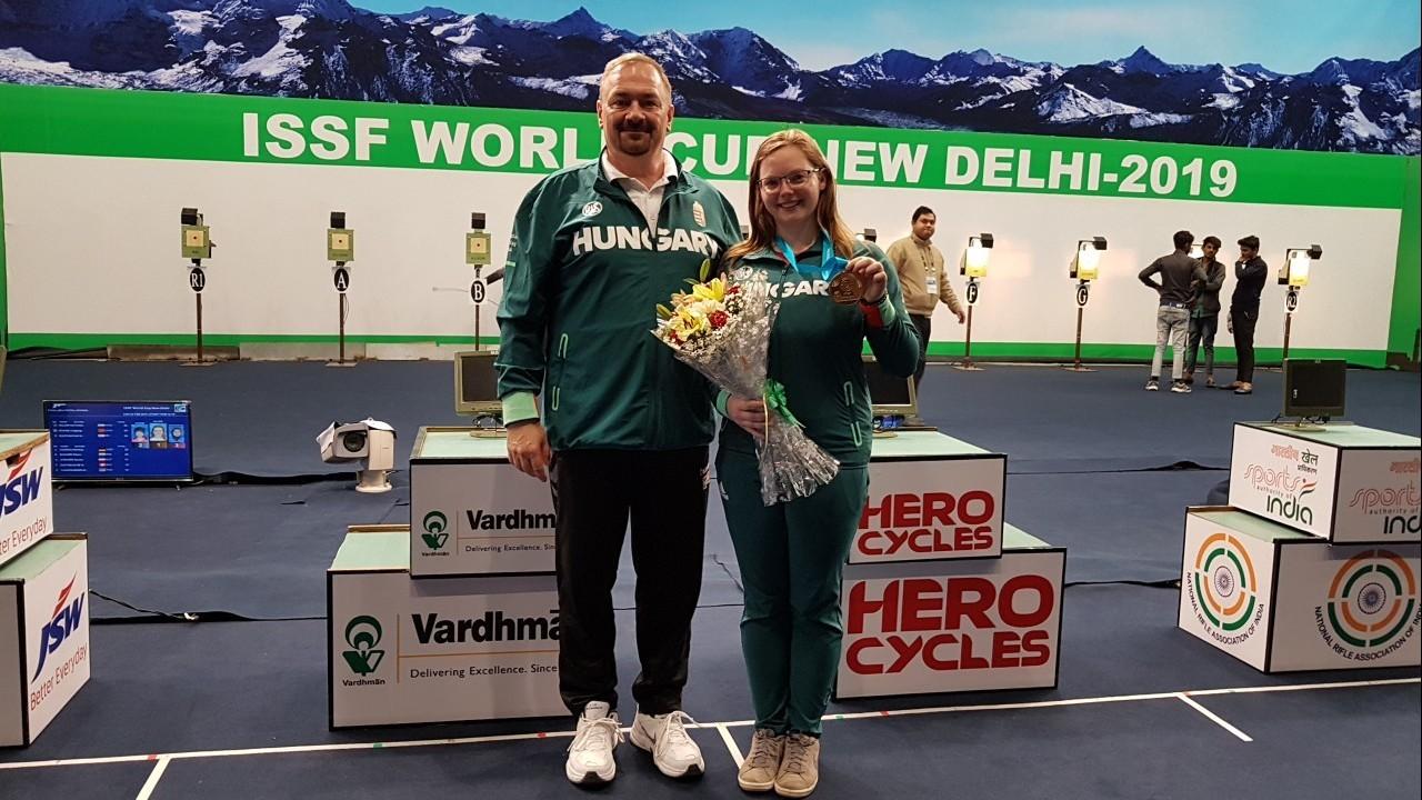 Sportlövő vk - Major Veronika győzött és kvótás